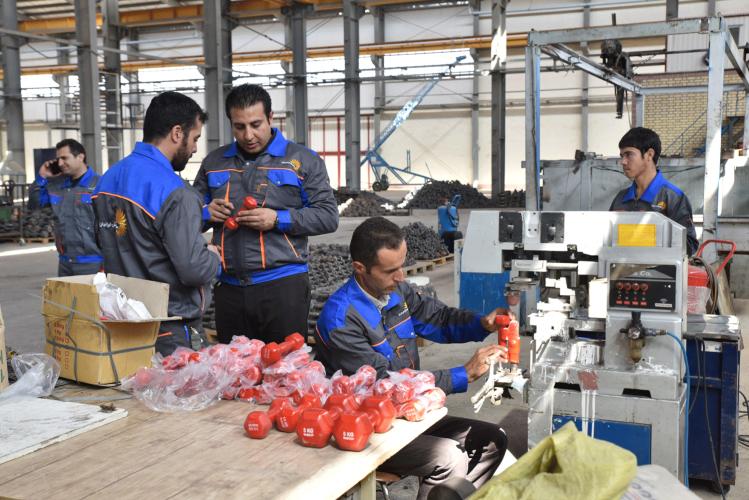 تولید کننده دمبل